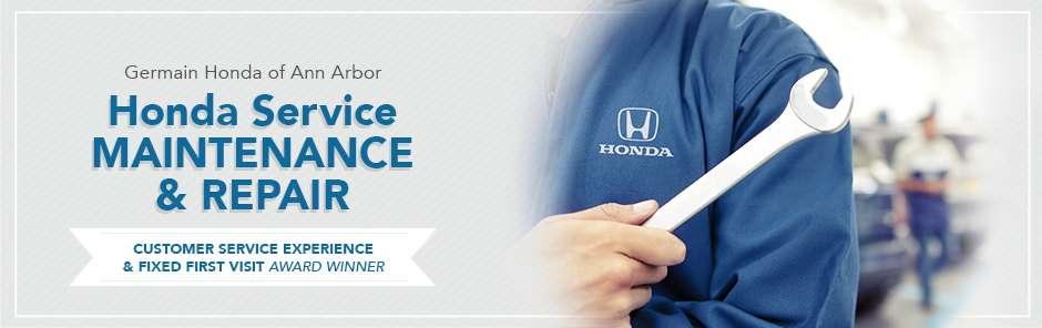 Germain Honda Service >> Honda Service Repair Department Near Detroit Mi Honda Of Ann Arbor