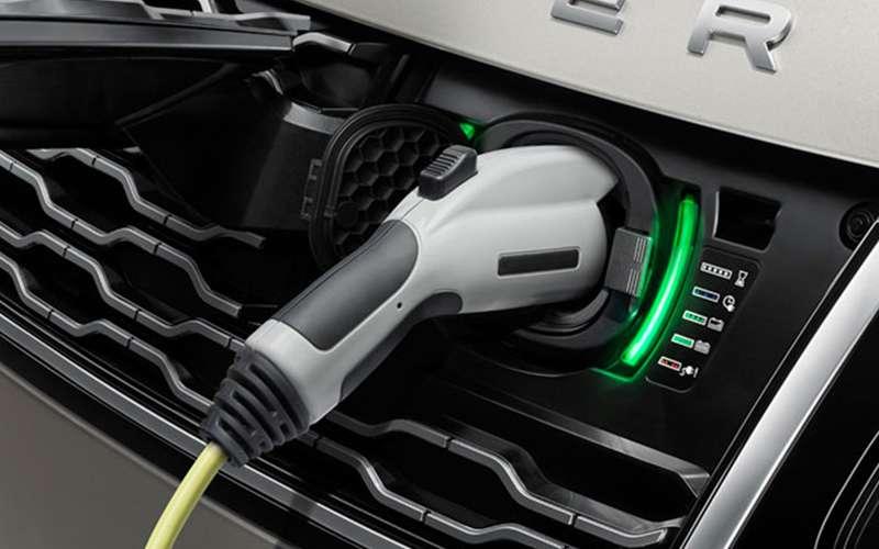 2020 Range Rover PHEV Charging