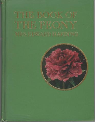 The book of the Peony, Harding Edward Mrs.