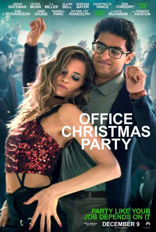 Poster Office Christmas Party (2016) Full HD Movie Download Blue-Ray 720p