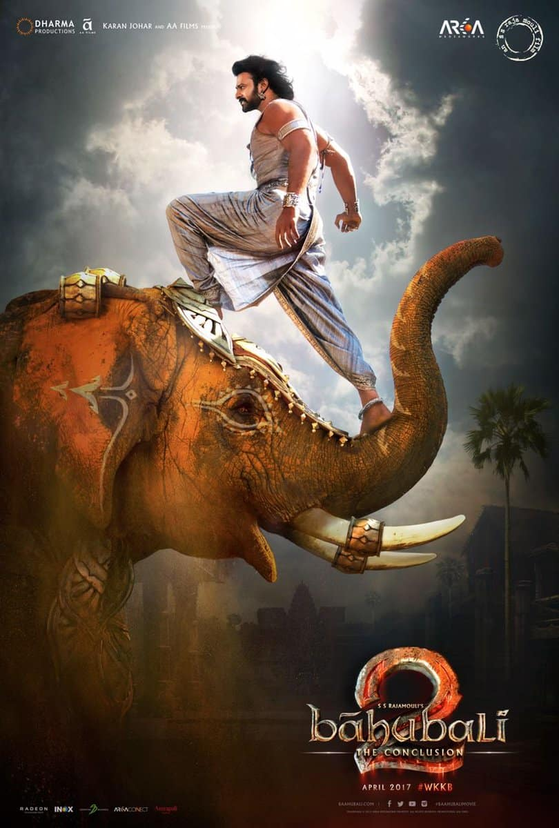 Poster Bahubali 2 (2017) Full HD Movie Download in Hindi Dubbed