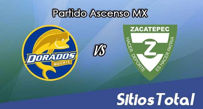 Dorados de Sinaloa vs Zacatepec en Vivo – Ascenso MX – Sábado 22 de Abril del 2017