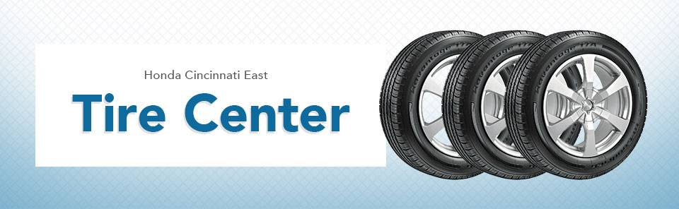 The Honda Tire Center at Honda East