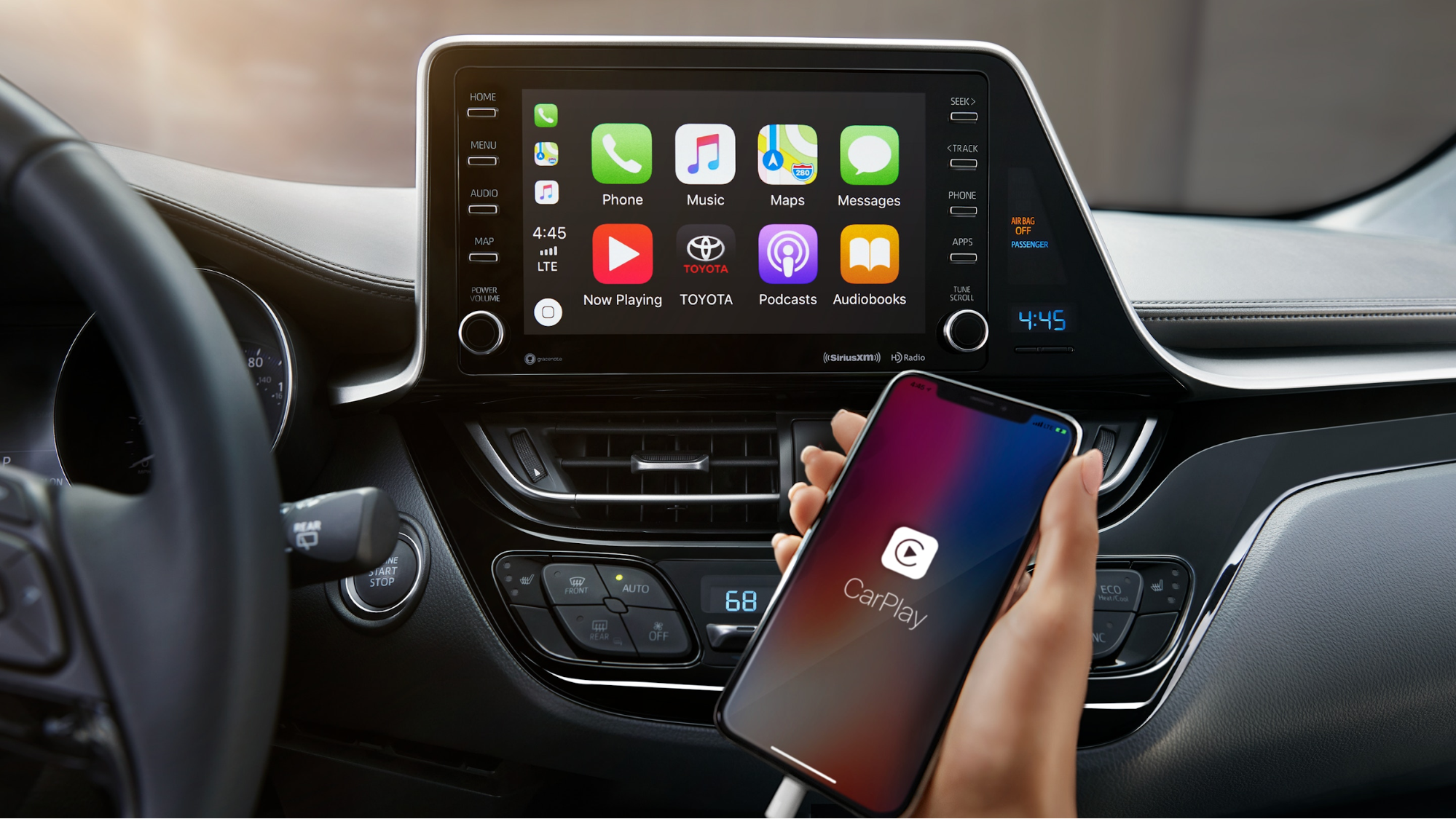 2019 Toyota C-HR Apple CarPlay Smartphone Integration