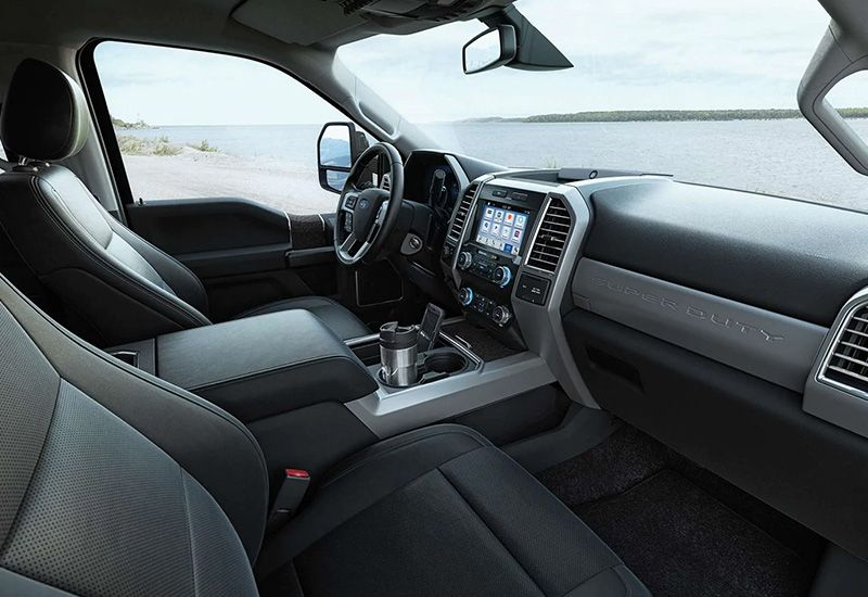 2019 Ford Super Duty Lariat Interior