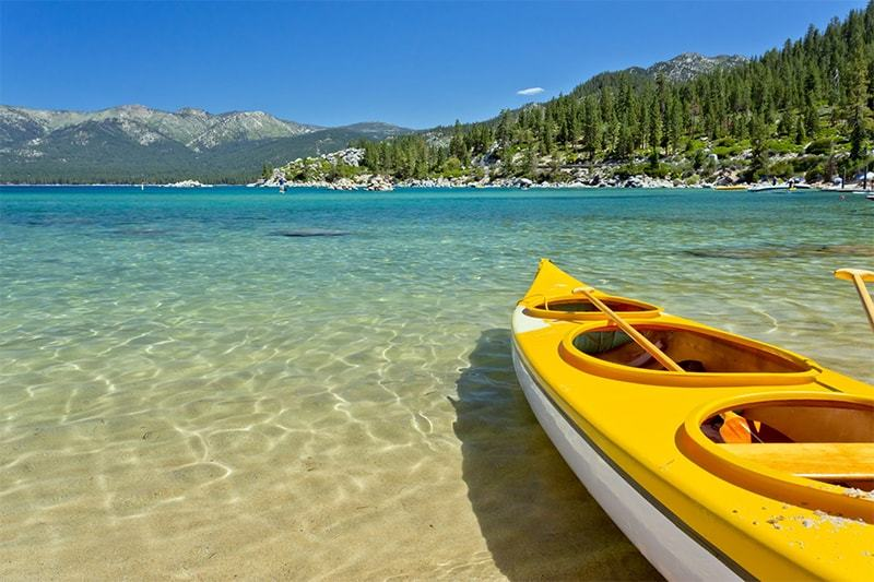 que ver en California Tahoe Lake
