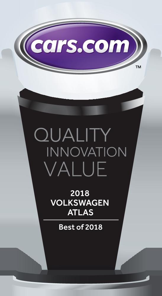 2018 Volkswagen Atlas Best of 2018 Cars.com Award