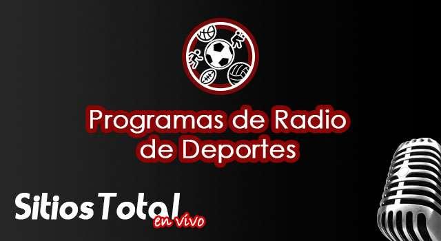 Programas de Radio de Deportes en Vivo