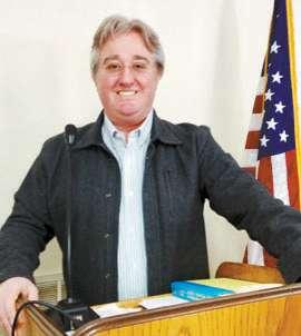 James Calvert Speaks to Kiwanis/Senior Citizens'