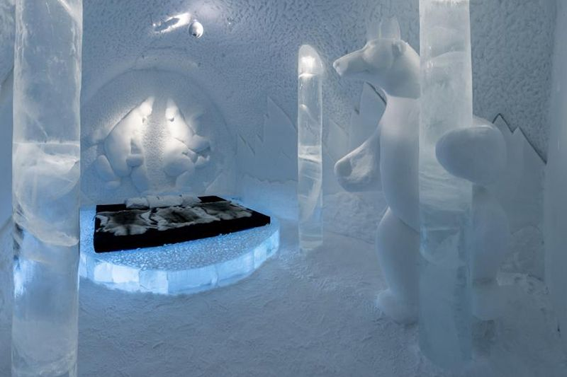 The ICEHOTEL in Sweden