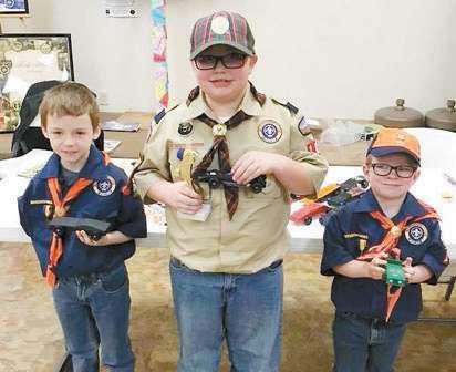 Boy Scout Pinewood Derby Winners