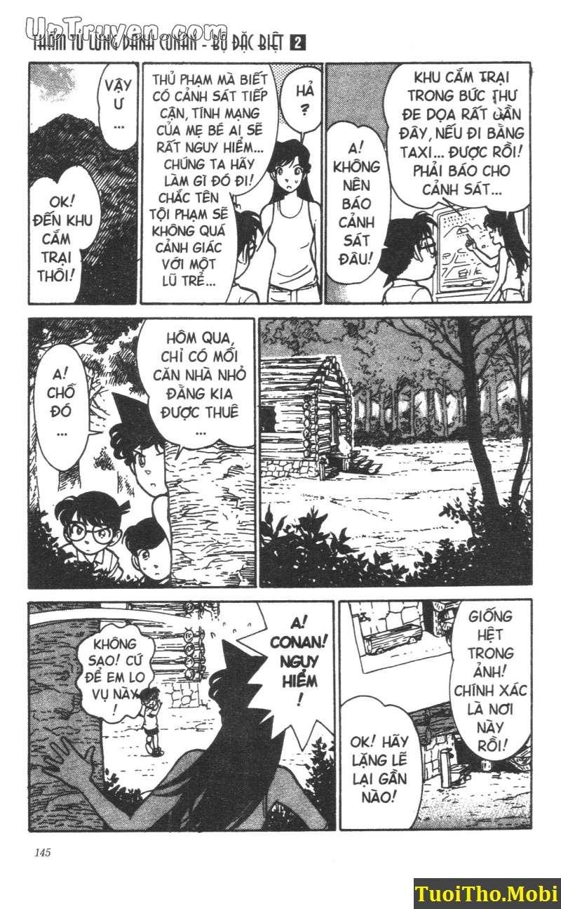 đọc truyện Conan bộ đặc biệt chap 16 trang 12