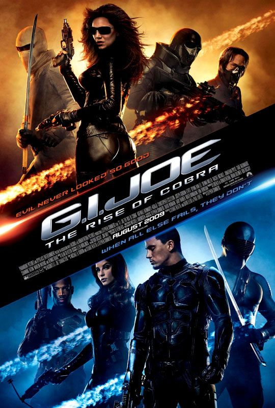Poster G.I. Joe: The Rise of Cobra (2009) Full HD Movie Download Dual Audio Hindi 720p