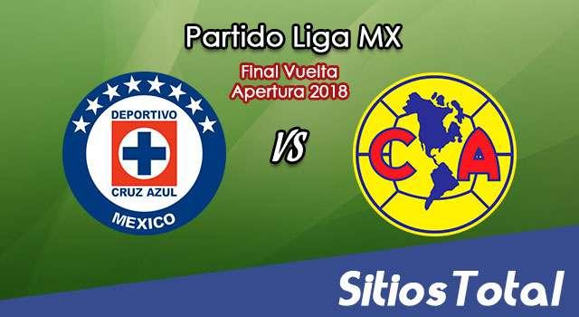 Transmisión en Vivo en México del Cruz Azul vs América de la Liga MX
