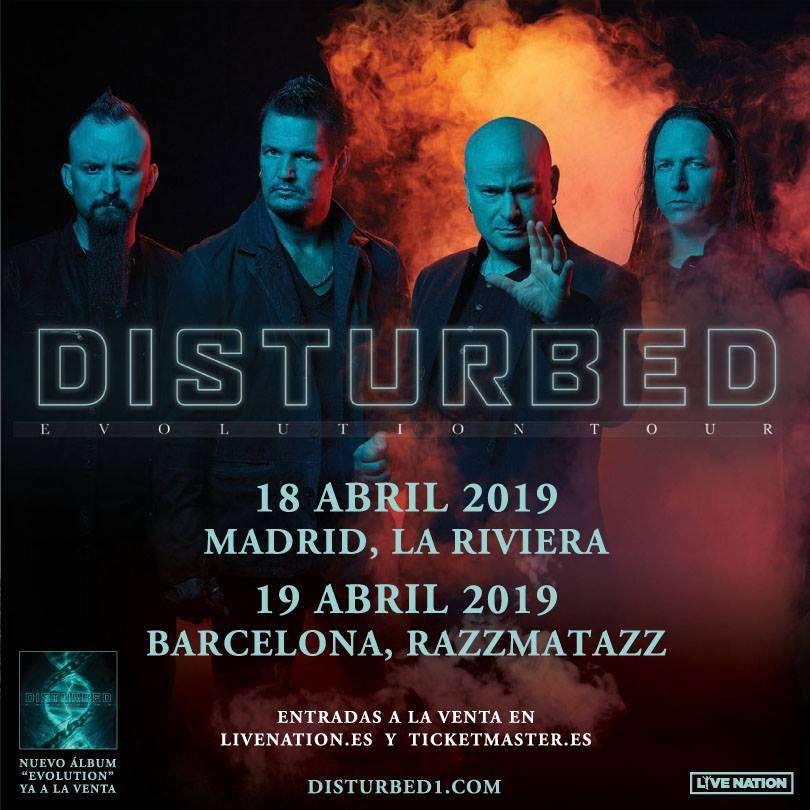 Disturbed - Spanish Evolution Tour