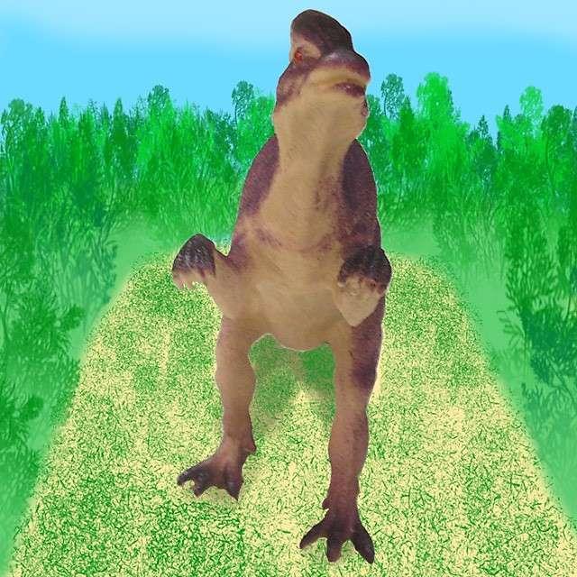 Dinosaur World Parasaurolophus