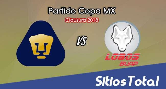 Pumas vs Lobos BUAP en Vivo – Copa MX – Miércoles 21 de Febrero del 2018