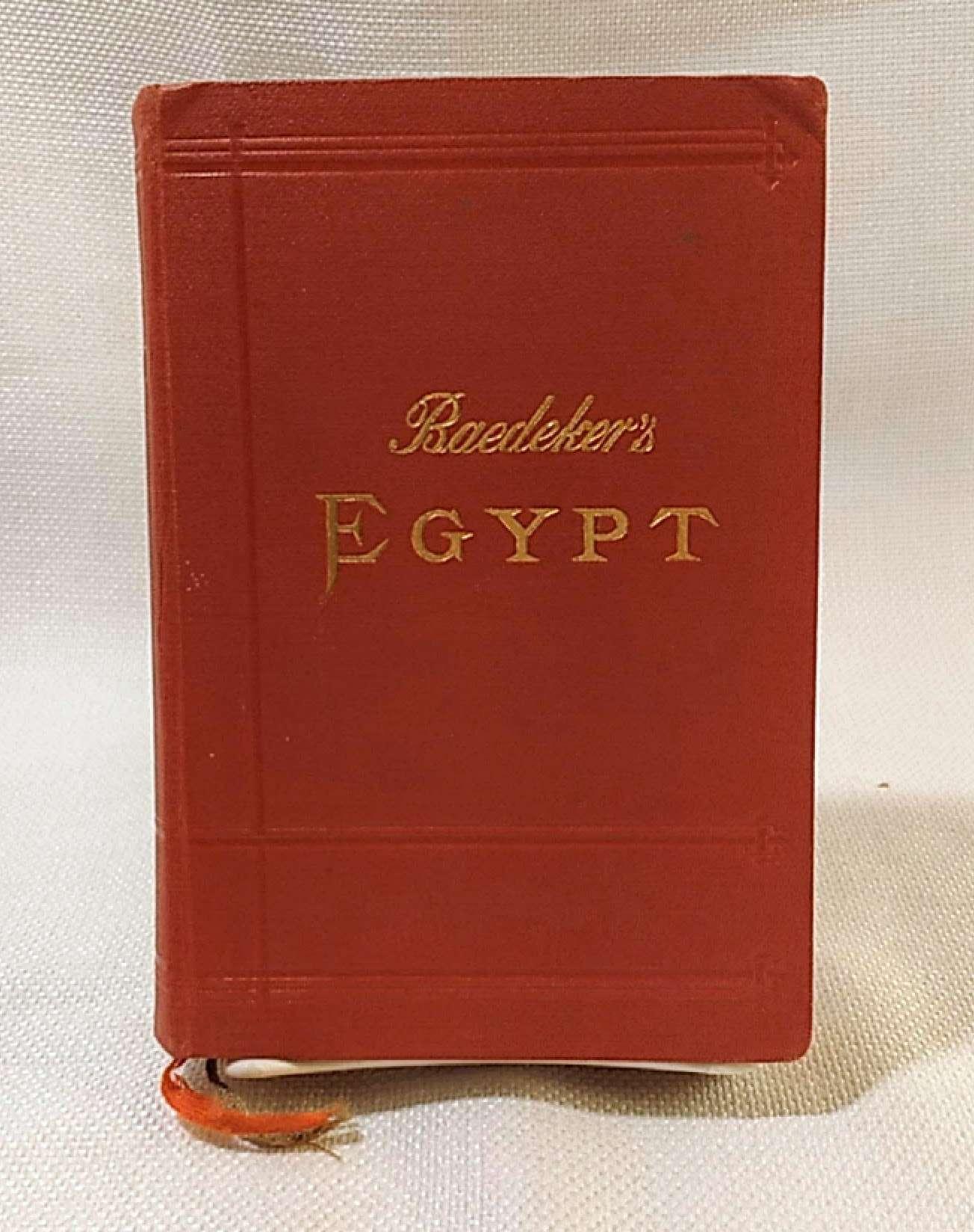 Egypt and The Sudan, Handbook for Travellers by Karl Baedeker. 1914. Cloth., Karl Baedeker