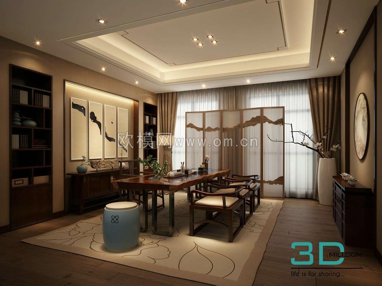 kitchen room 3dmax free download 3d mili download 3d model