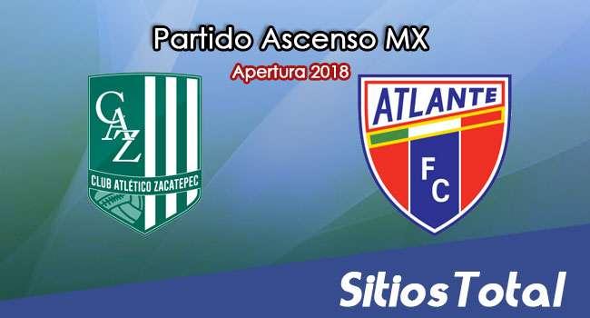 Ver Atlético Zacatepec vs Atlante en Vivo – Ascenso MX en su Torneo de Apertura 2018