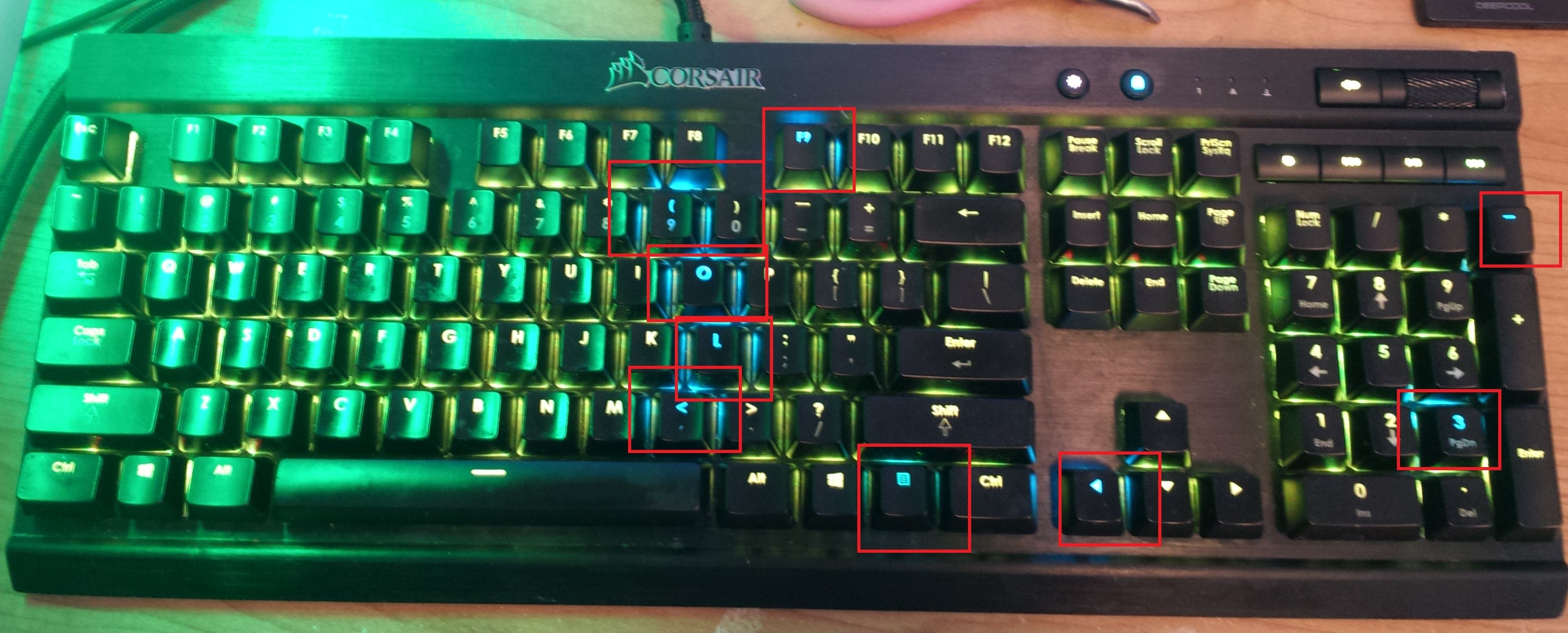 K70 LUX RGB LEDs not working right  - The Corsair User Forums