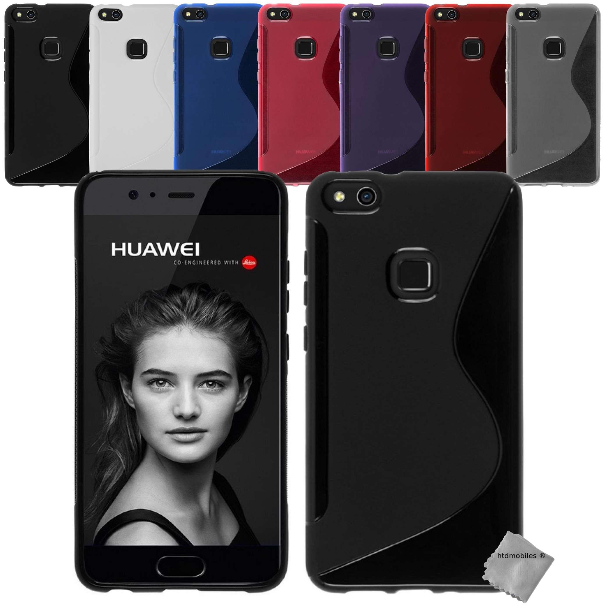 Housse etui coque pochette silicone gel fine pour Huawei P10 Lite ...