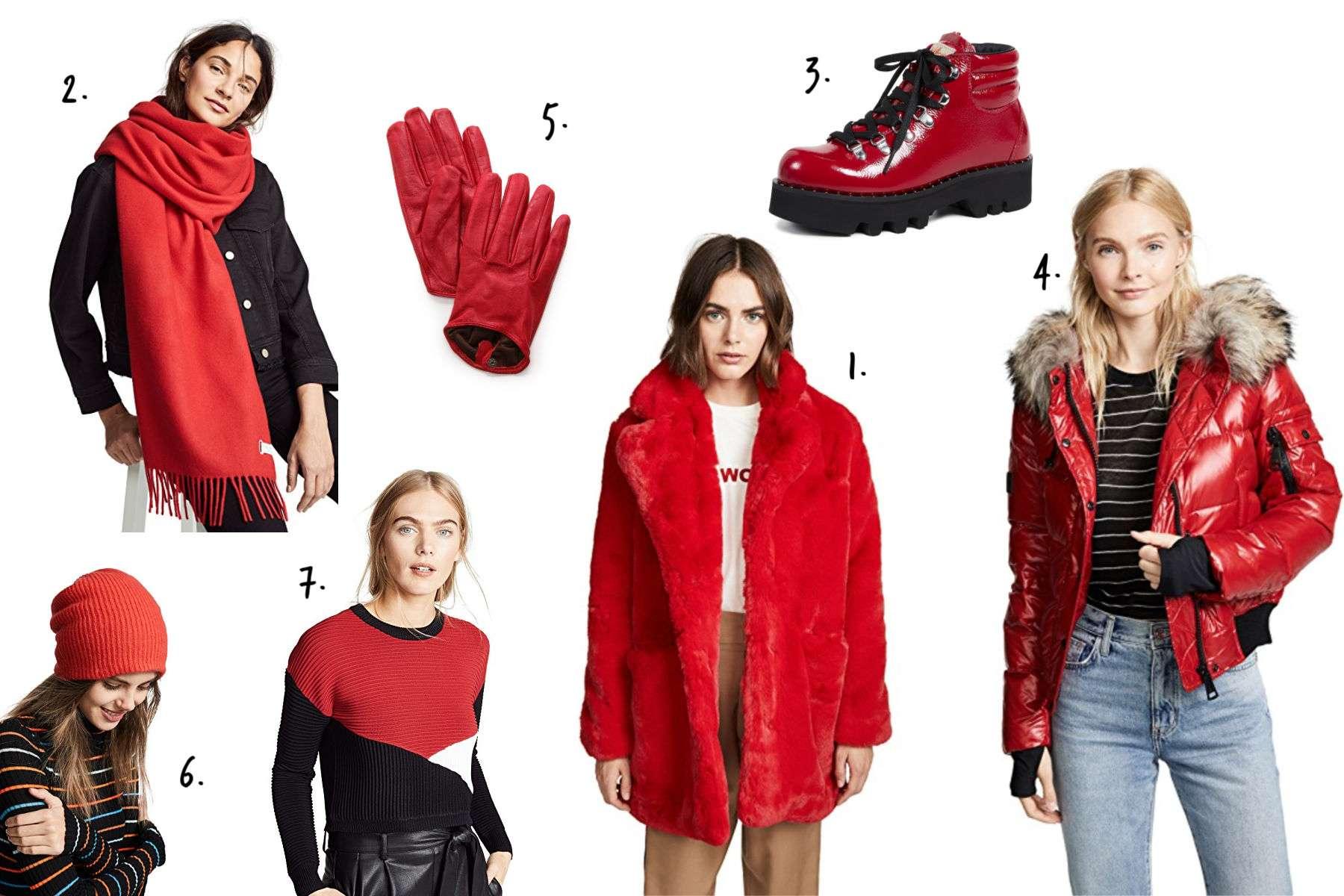 Shopbop Winter Essentials - Red