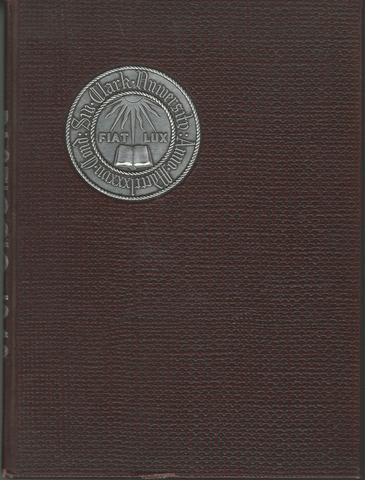Pasticcio Nineteen Forty-Eight Undergraduate Annual Clark University Yearbook, Class of 1948