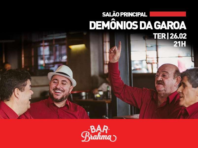 Demônios da Garoa no Bar Brahma
