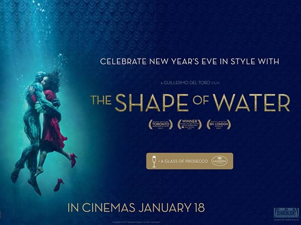 H Μορφή του Νερού (Τhe Shape of Water) Quad Poster