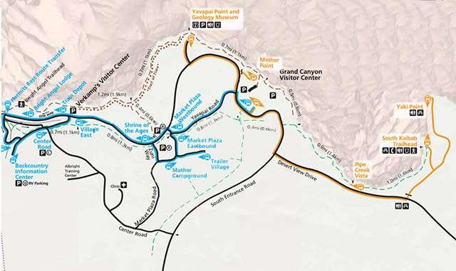 shuttle map grand canyon