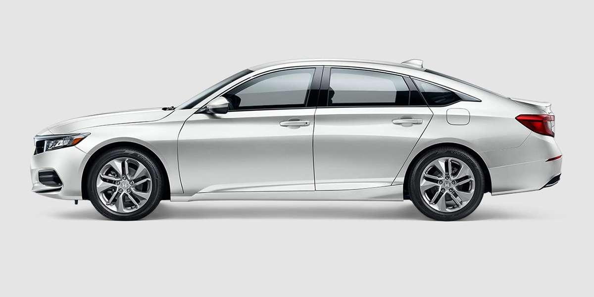 2018 Honda Accord LX in Platinum White