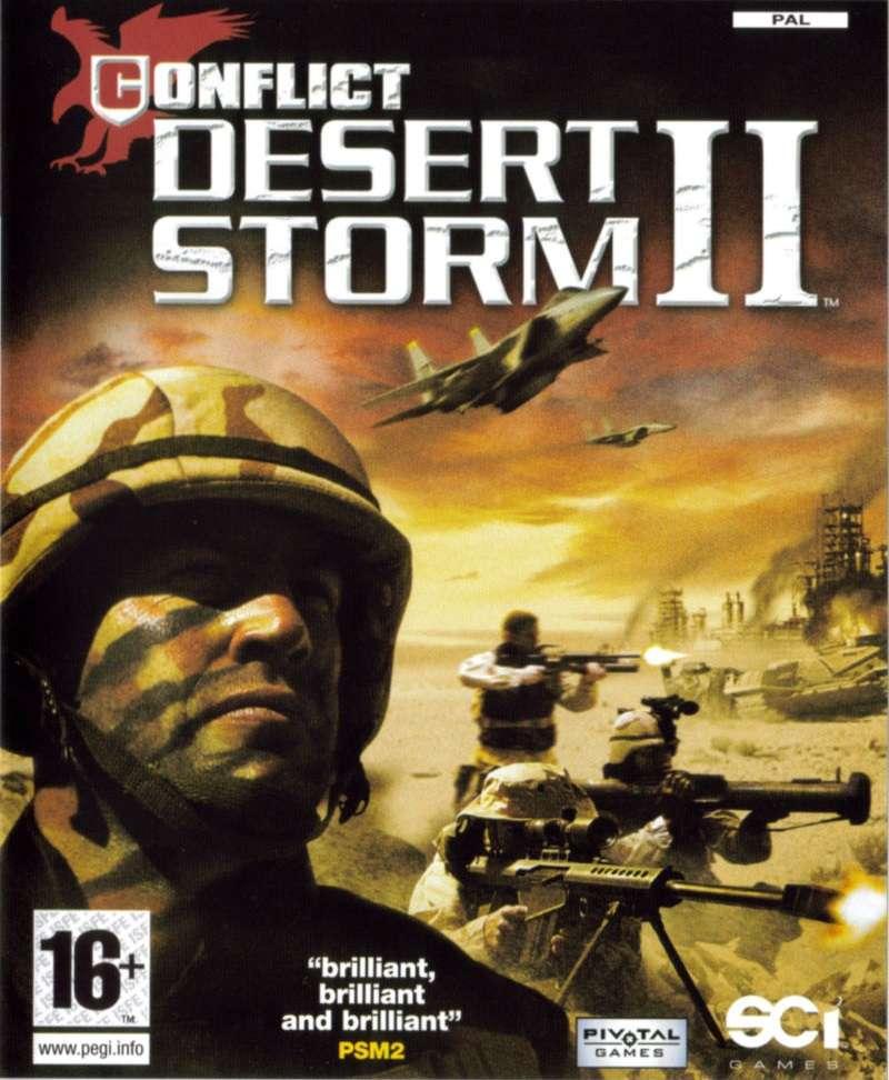 Conflict: Desert Storm 2 Deutsche  Texte Cover