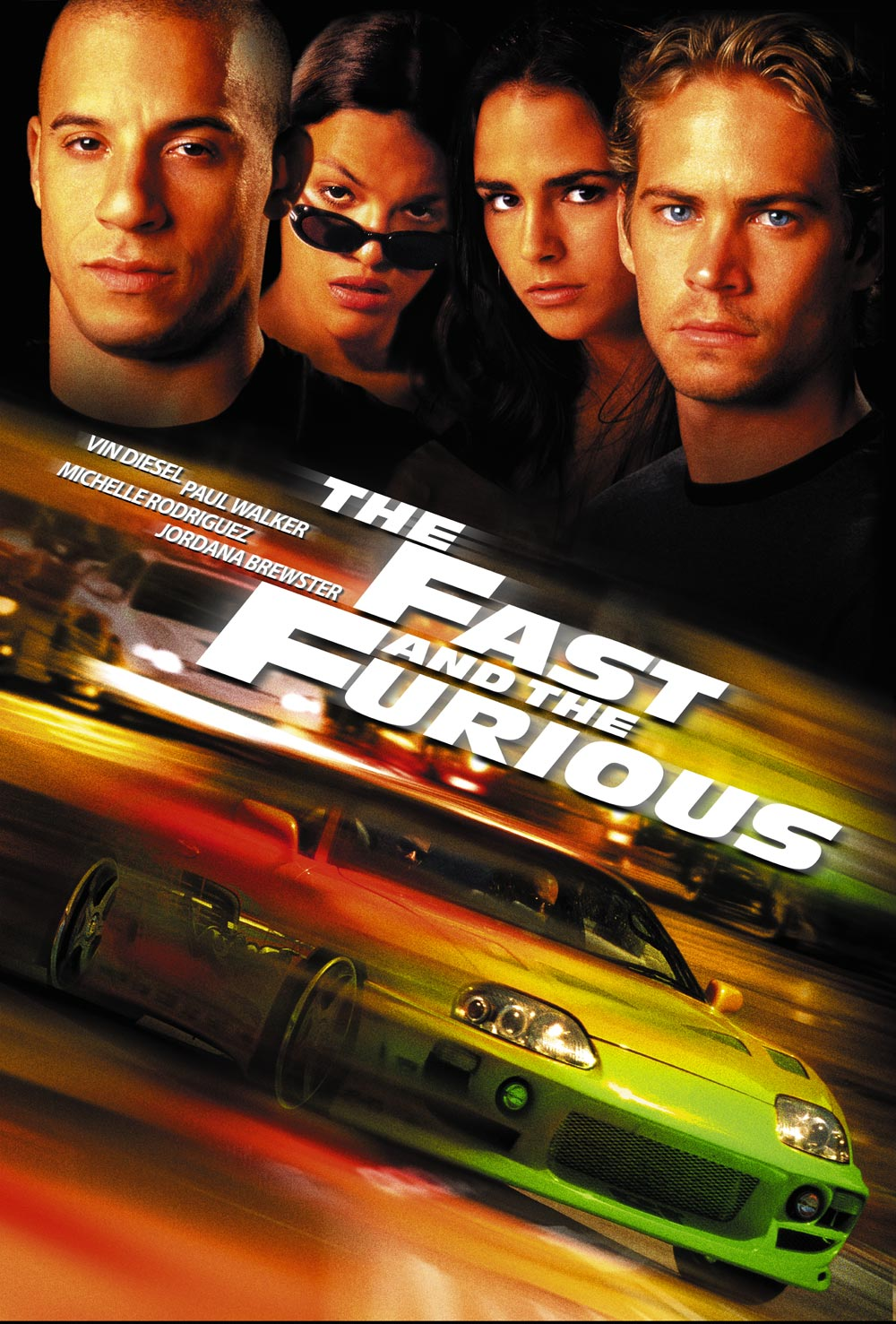 Poster The Fast And Furious (2001) Full HD Download Hindi Dual Audio 720p