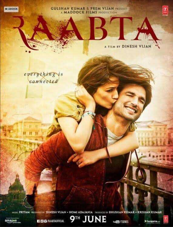 Poster Raabta 2017 Full Movie Download In Hd Pre DVDRip