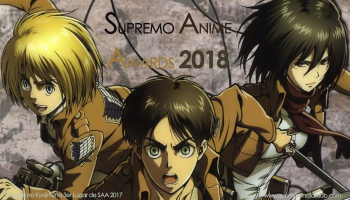 Supremo Anime Awards 2018
