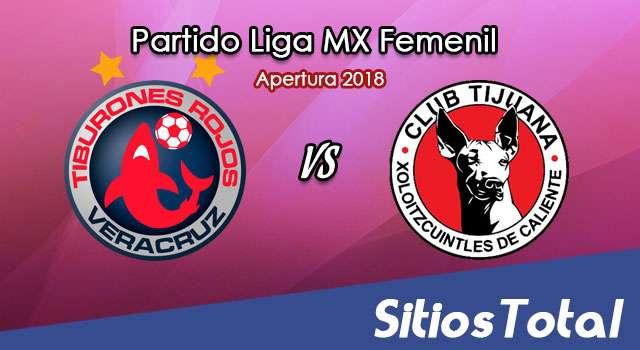 Veracruz vs Xolos Tijuana en Vivo – Liga MX Femenil – Lunes 23 de Julio del 2018