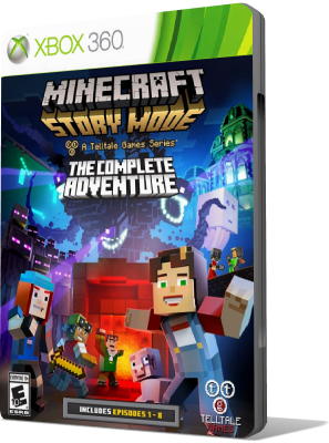 [XBOX360] Minecraft: Story Mode - The Complete Adventure (2016) - ENG