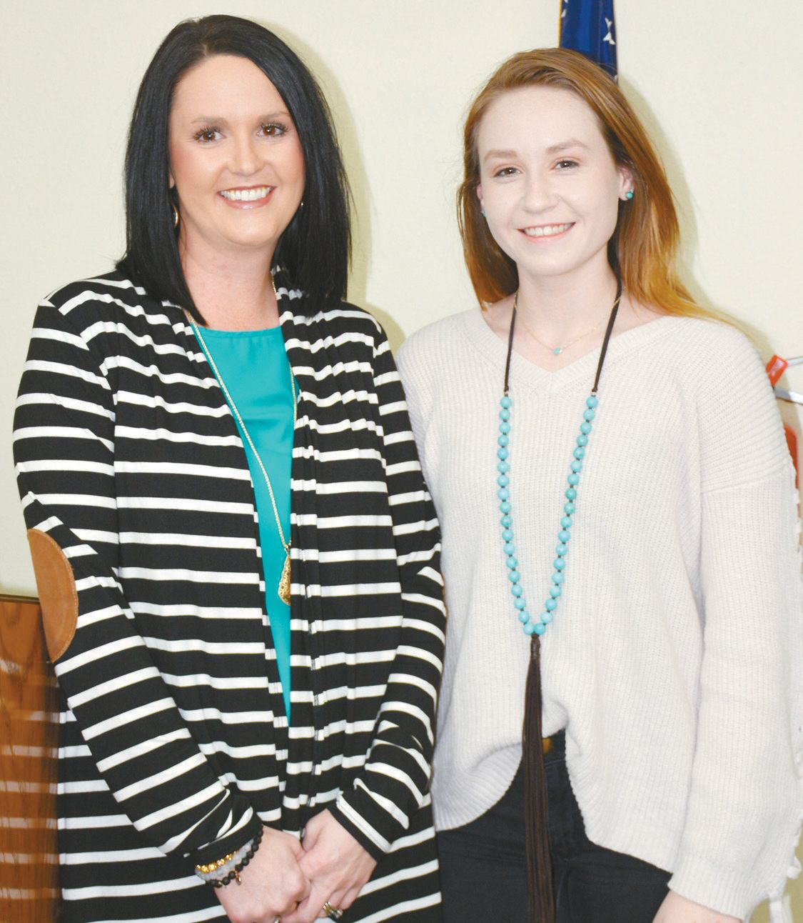 CHS Student of the Month Amber Smith Honored