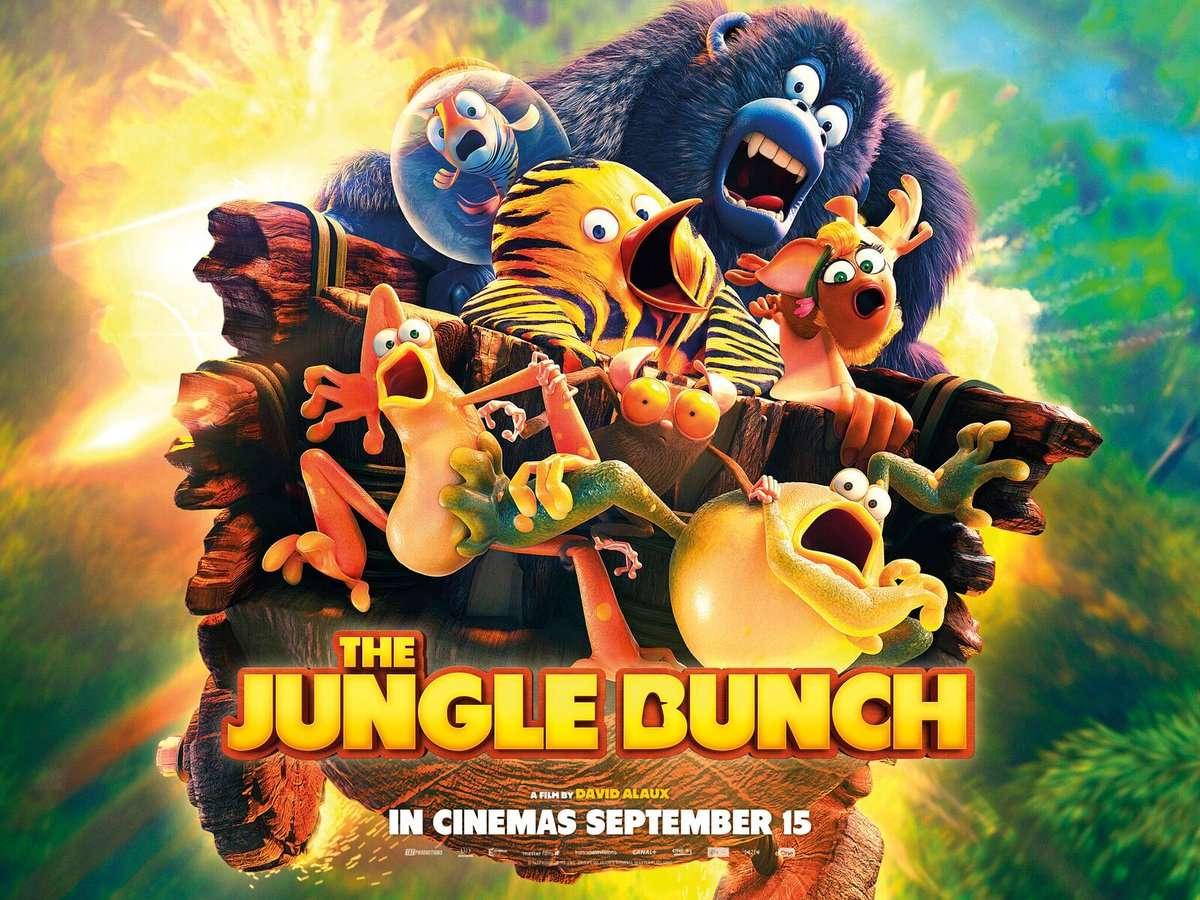 Η ζουγκλοπαρέα (Les as de la jungle) Poster Πόστερ