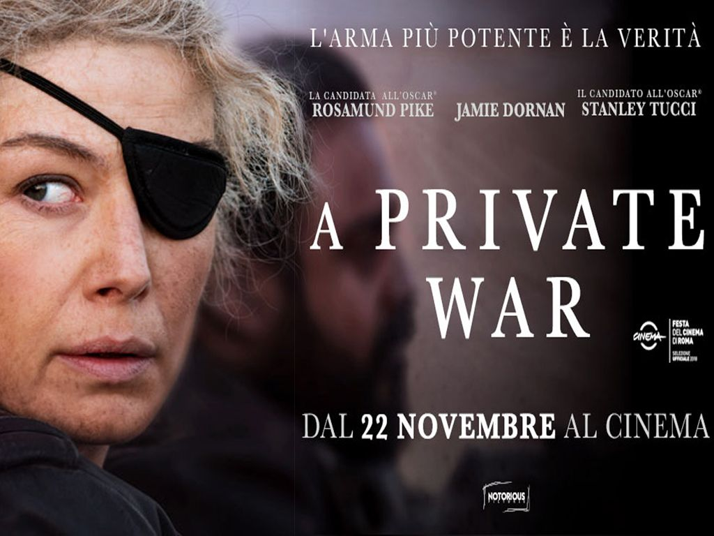 Ο Δικός της Πόλεμος (A Private War) Movie