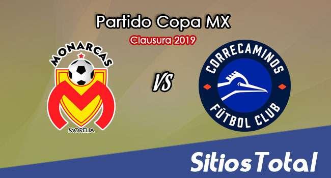 Monarcas Morelia vs Correcaminos en Vivo – Copa MX – Miércoles 23 de Enero del 2019