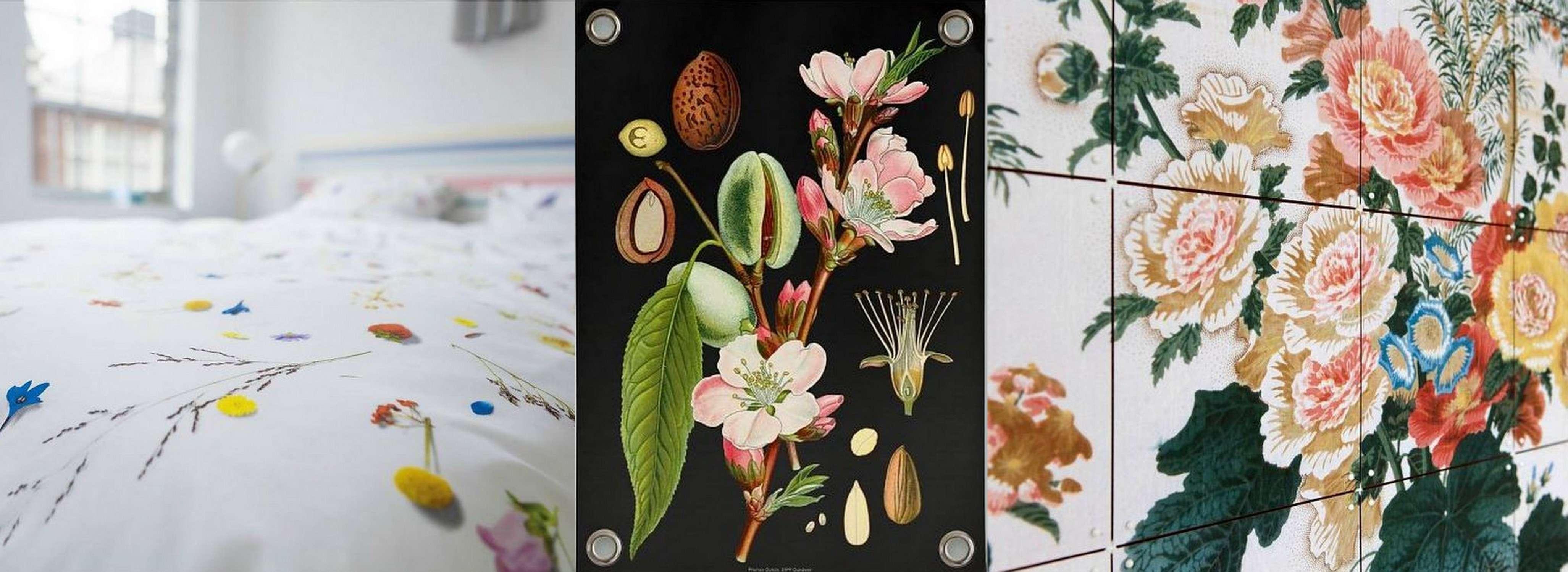 collage bloemenprints 2