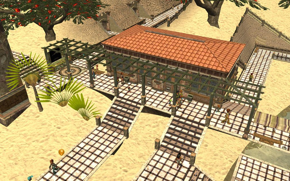 My Projects - CSO's I Have Imported, Pergolas Set - Aegean Sands, Refreshment Outbuilding, S.E., Image 01