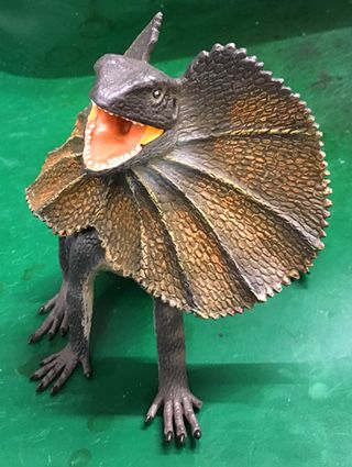 Toy Dilophosaurus?