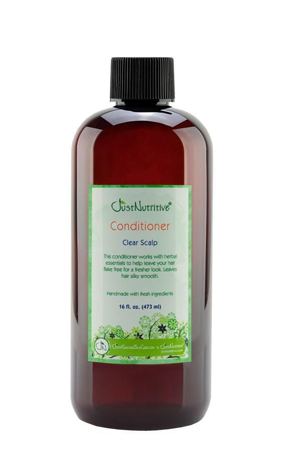 Just Nutritive Clear Scalp Conditioner 16 oz.