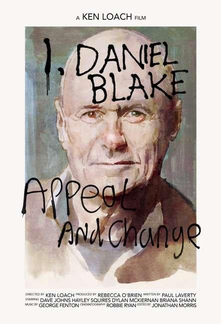 Poster I Daniel Blake 2016 Full Movie Download 480p English 245MB