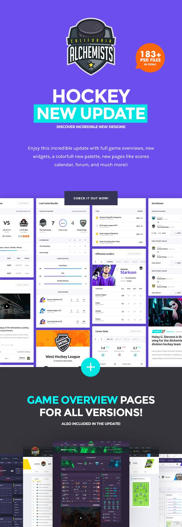 The Alchemists - Sports News PSD Template V4.0 + eSports & Gaming - 8
