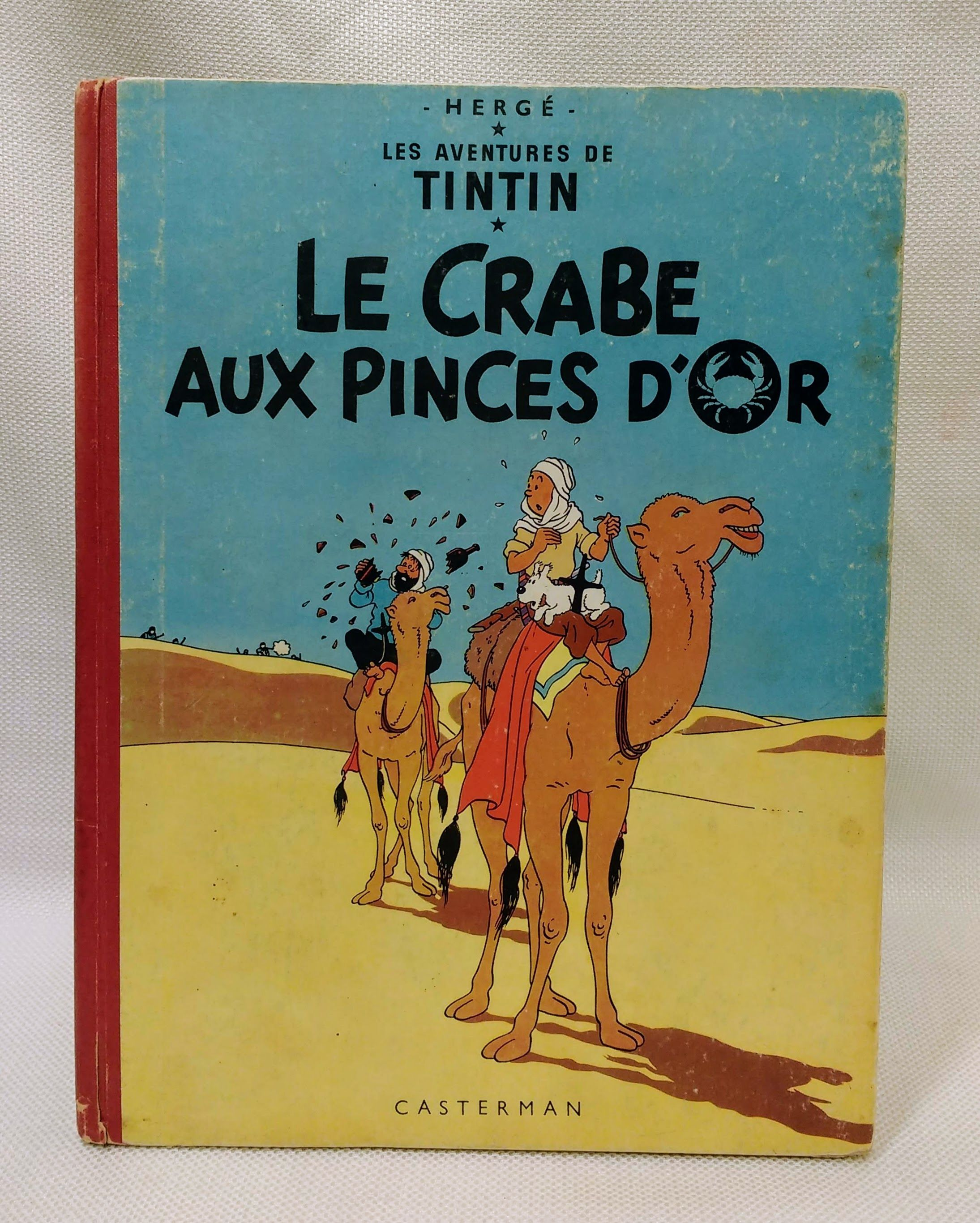 Crabe Aux Pinces D'Or, Herge