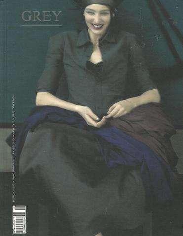 Grey IV Fashion and Photography Spring/Summer 2011 Biannual Issue, Editor Valentina Ilardi Martin